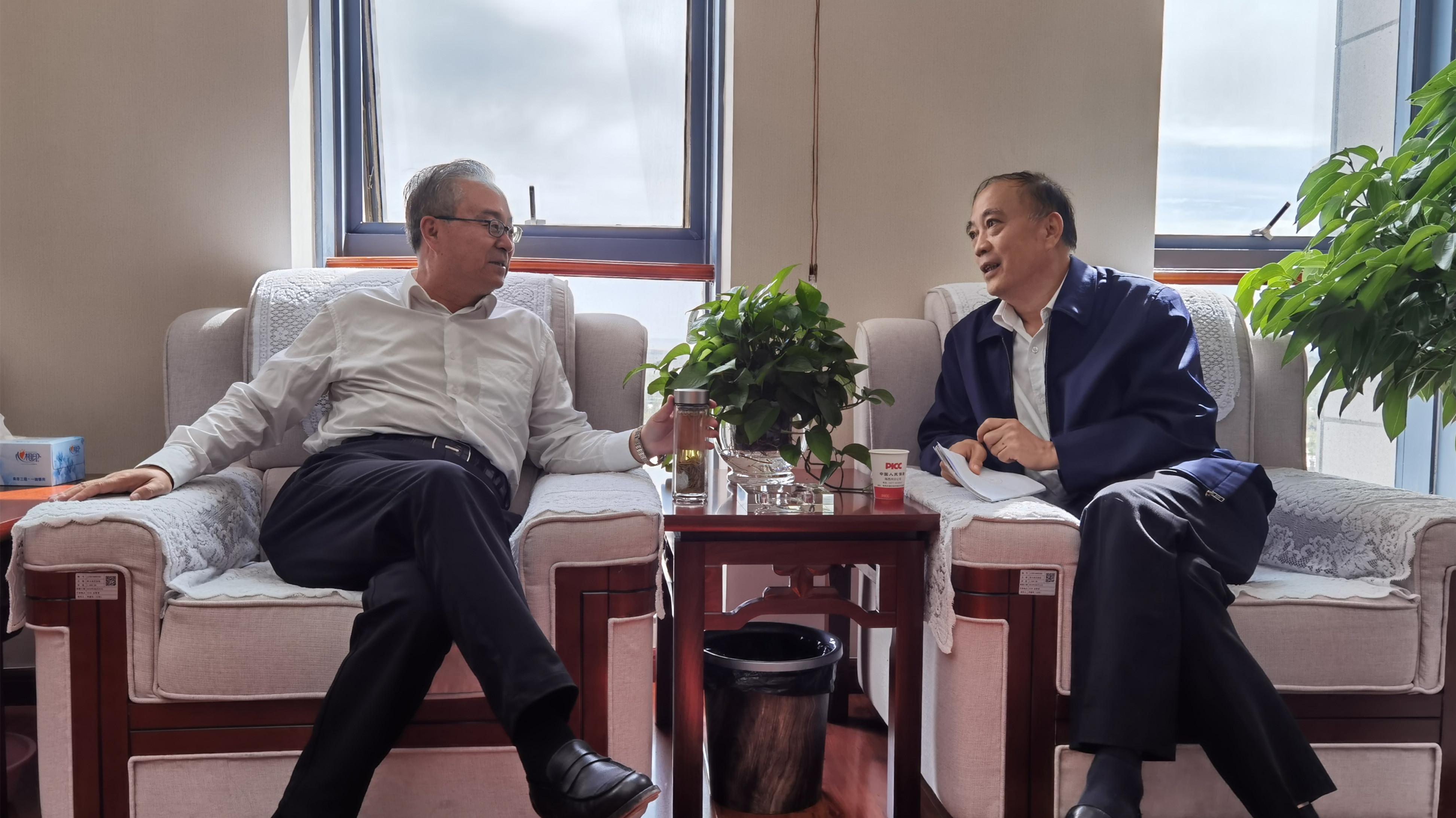 王海宁拜会海西州委州政府领导